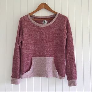 Women's Volcom sweater mauve Pink
